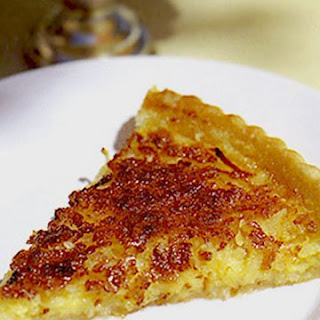 Lemon Coconut Buttermilk Pie