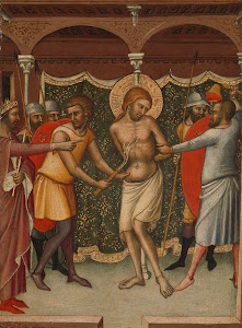 RIJKS: Luca di Tommè: The Flagellation 1365