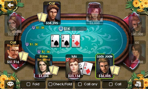 dh-texas-poker for android screenshot