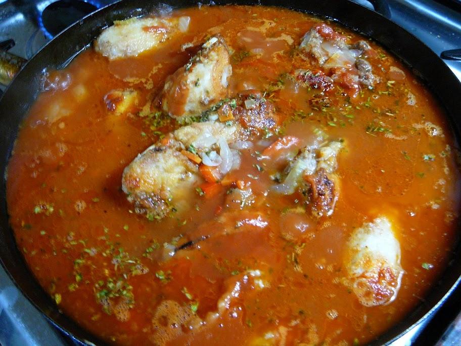 Estofado De Pollo Con Ravioles [Paso A Paso]