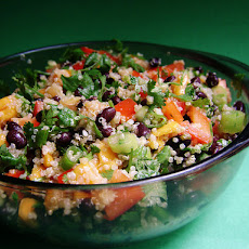 Quinoa Black Bean