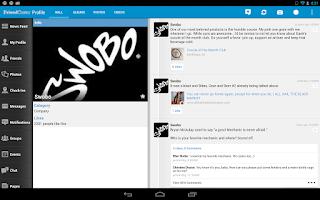 Screenshot of Friendcaster