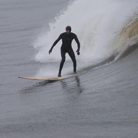 Winter by Prentiss Findlay - Sports & Fitness Surfing ( surfing, winterwave, ocean, beach, surf )
