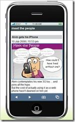 alvin iphone