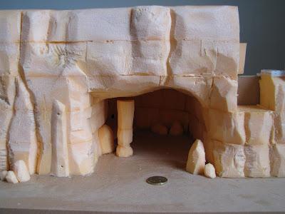 Vue sur la grotte