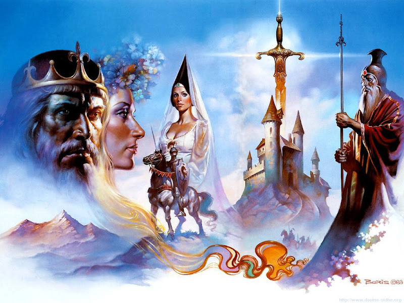 Illustrateur Fantasy - Boris Vallejo