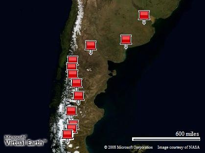 El Viaje: Buenos Aires - El Calafate