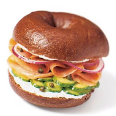 Smoked Salmon Bagel