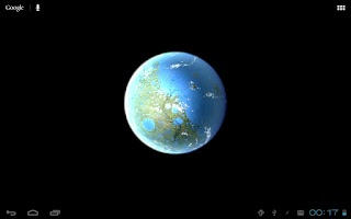 Screenshot of Moon Terra 3D Live Wallpaper