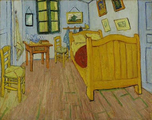 The bedroom, Vincent van Gogh