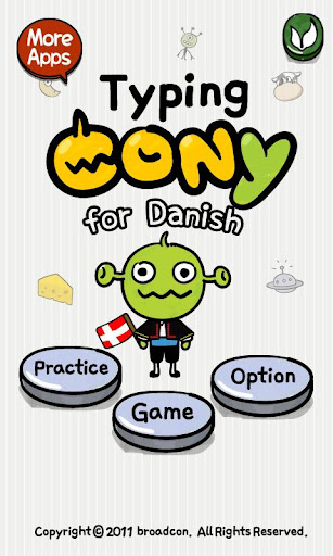 [B]TypingCONy for Danish