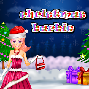 christmas barbie dressup