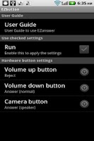 Screenshot of EZbutton (answer by buttons)