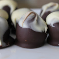 Stuffed Cherries Dipped in Chocolate