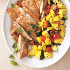 Chicken with Summer Vegetables