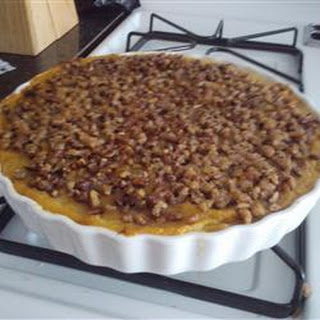 Squash Casserole with Crunchy Pecan Topping