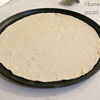 Homemade Thin Pizza Crust