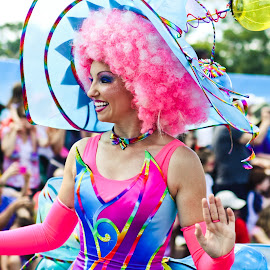 Colorful parade dancer by Teresa Cerbolles - Novices Only Portraits & People (  )