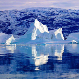Greenland Iceberg by Tyrell Heaton - Landscapes Waterscapes ( iceberg, greenland )