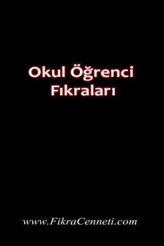Okul Ogrenci Fikralari