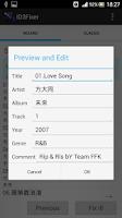 Screenshot of ID3Fixer