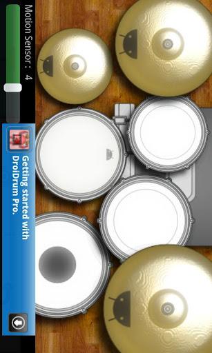DroiDrum - a basic drum set