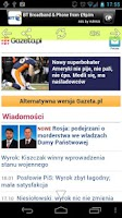 Screenshot of Polish Newspapers