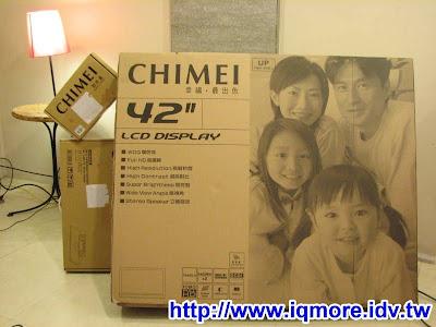 奇美(CHIMEI) 42″LCD電視評測 (TL-42W6000D)