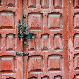 Canary Island Door by Jill Gibney - Buildings & Architecture Architectural Detail ( door, architectural detail )
