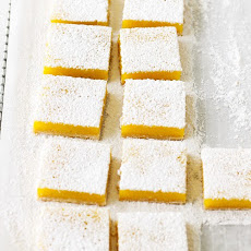 Lemon Bars with Brown-Butter Shortbread Crust