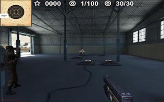Screenshot of Arma II: Firing Range THD