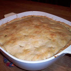 Lentil and Golden Squash Pot Pie
