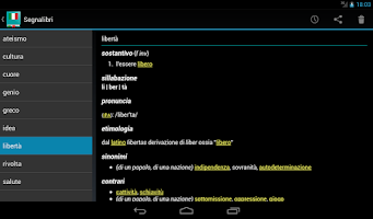 Screenshot of Italian Dictionary - Offline
