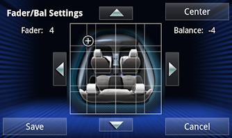 Screenshot of JVC Smart Music Control