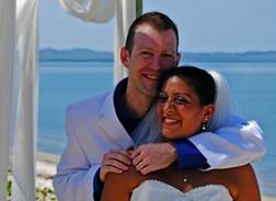 Tricia & John at Wyndham Denarau Island
