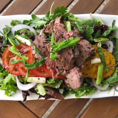 Thai Inspired Flank Salad
