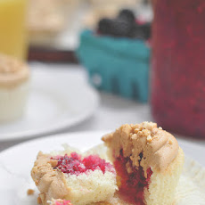 PB&J (Peanut Butter and Jam) Cupcakes