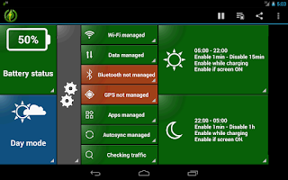 Screenshot of GreenPower Premium