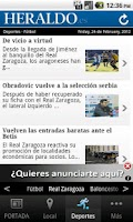 Screenshot of HERALDO.es para Android