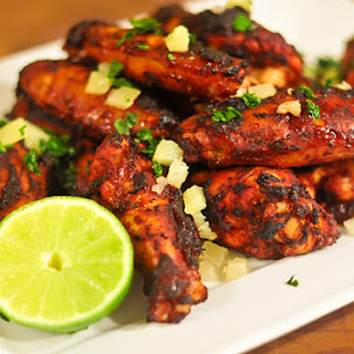 Oven-Fried Chicken Wings al Pastor