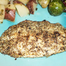 Greek Herb Rub for Fish