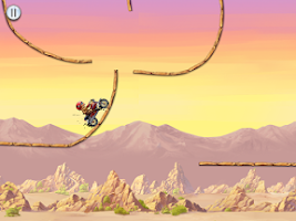 Screenshot of Mad Moto Racing: Stunt Bike