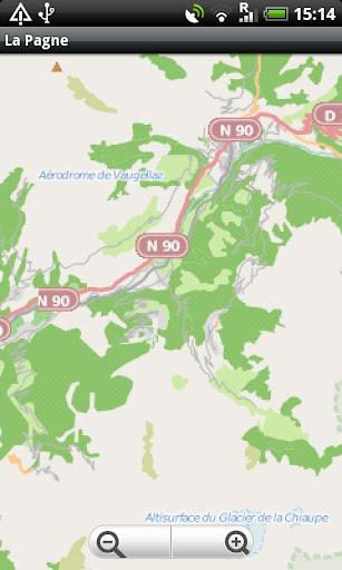 La Plagne Paradiski Map
