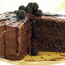 New-Fashioned Blackberry Chocolate Spice Cake