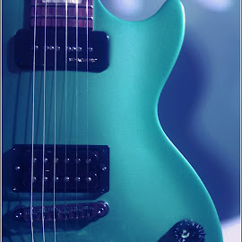 guitar by Ajay Sawant - Artistic Objects Musical Instruments ( music, india, guitar, instrument, stings )