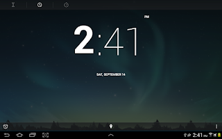 Screenshot of Jelly Bean 4.3 Alarm Clock