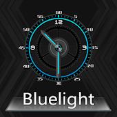 App BlueLight Clock Widget APK for Kindle