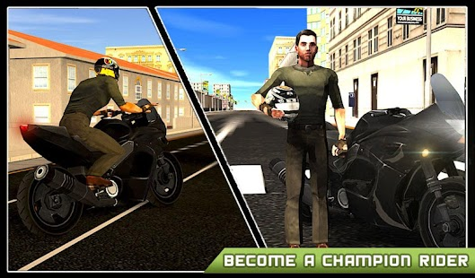 Extreme Motorbike Racing Sim- screenshot thumbnail