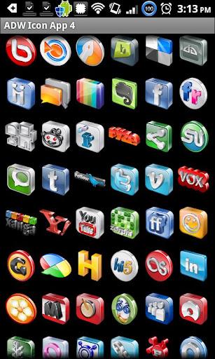 Icon App 4 ADW OH DVR CP