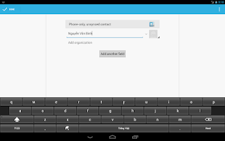 Screenshot of Vietnam Telex Keyboard